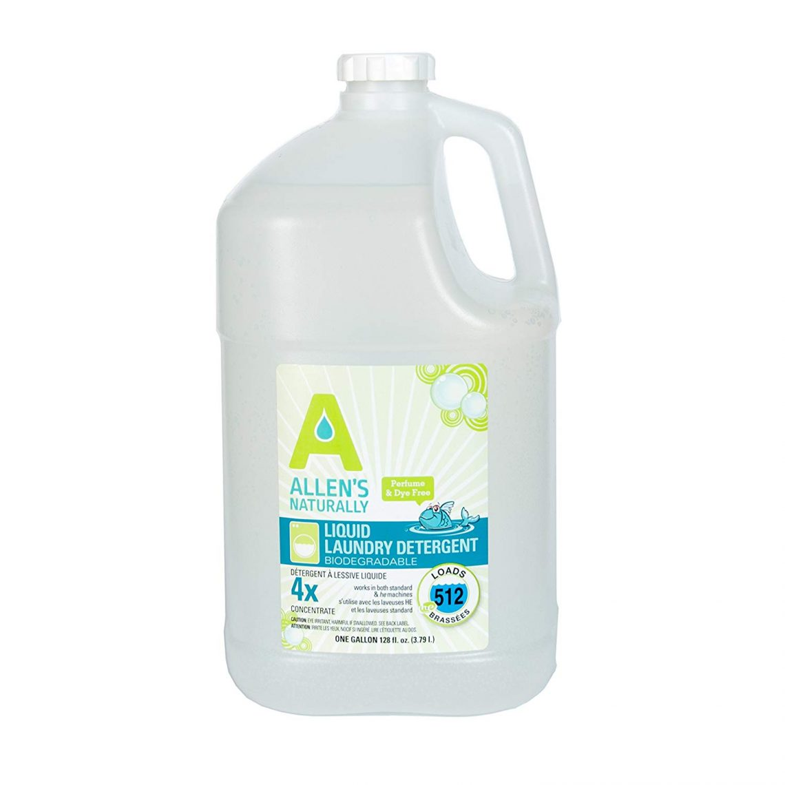 allen naturally chemical free laundry detergent